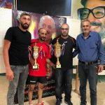 """علي منور يتوج بطلاً لدورة الشهيد """"خالد الحديري"""" الفردية لكرة الطاولة"""