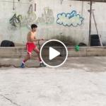 """فيديو: تدريبات اللياقة البدنية نادي الخليل الرياضي للفنون القتالية مجموعة الـ""""2004″"""